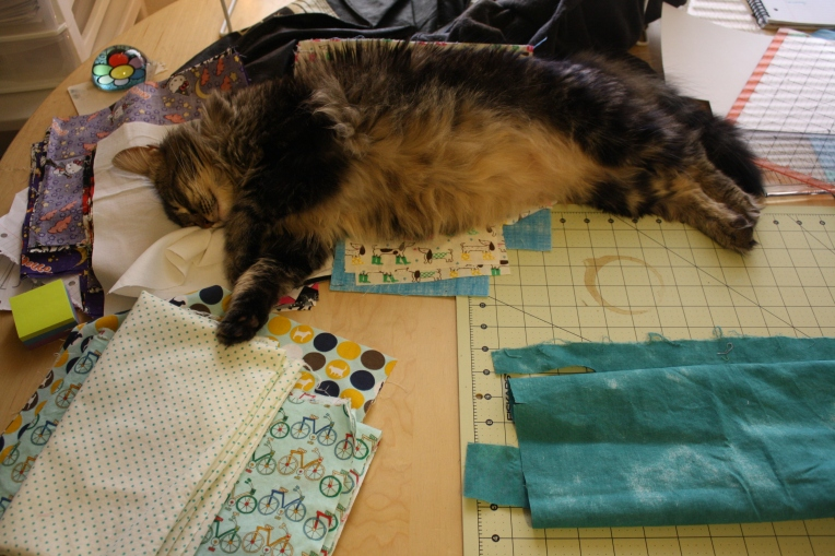 Sewing is exhausting!