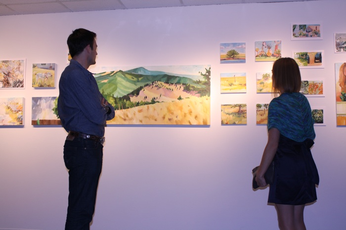 art show reception