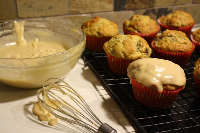 Did I say muffins? I meant muffins covered in peanut butter icing...
