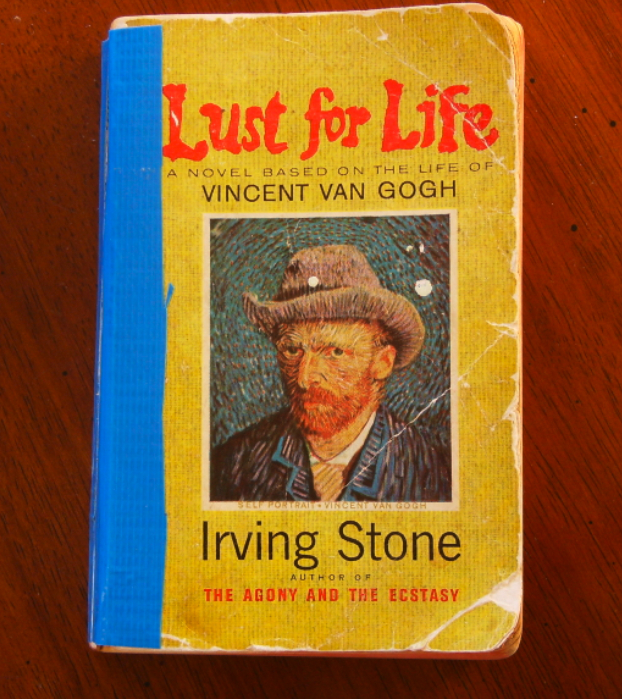 photo of book lust for life by irving stone