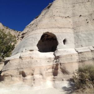 cave at tent rocks