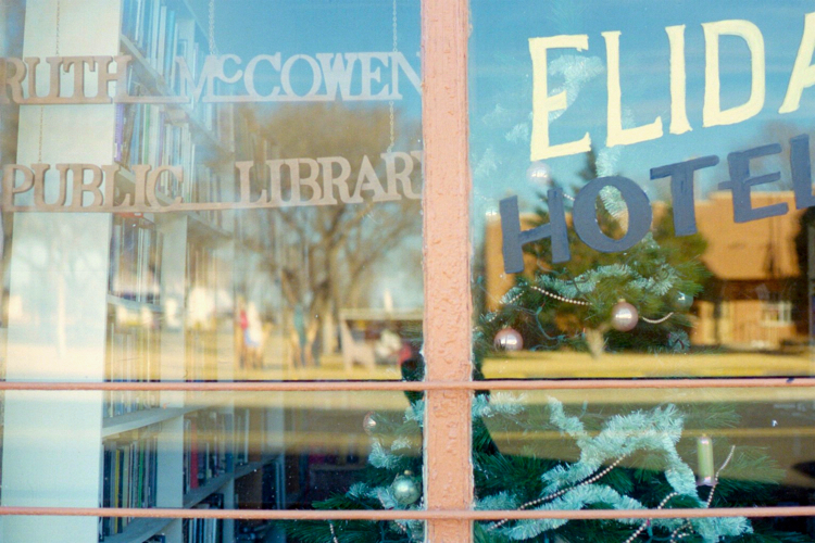 Photograph of Ruth McCowen Public Library, Elida, New Mexico