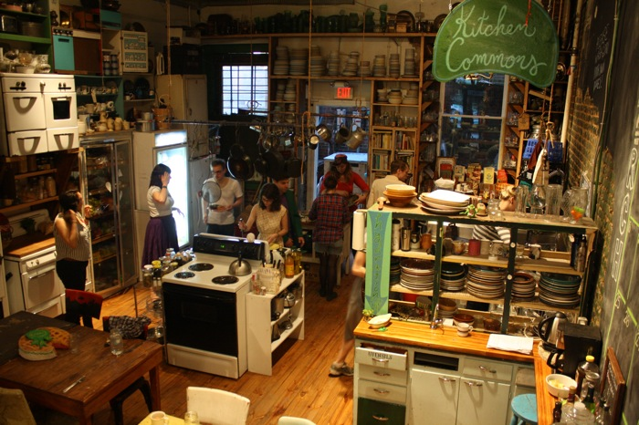picture of communal kitchen at Elsewhere