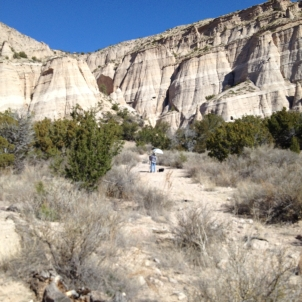 michelle at tent rocks