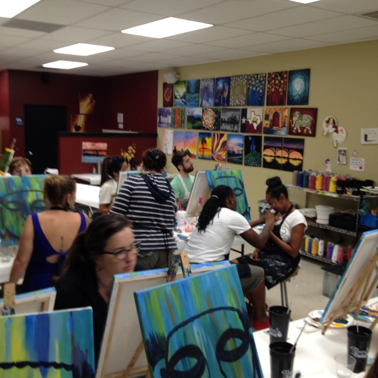 Painting with a Twist studio