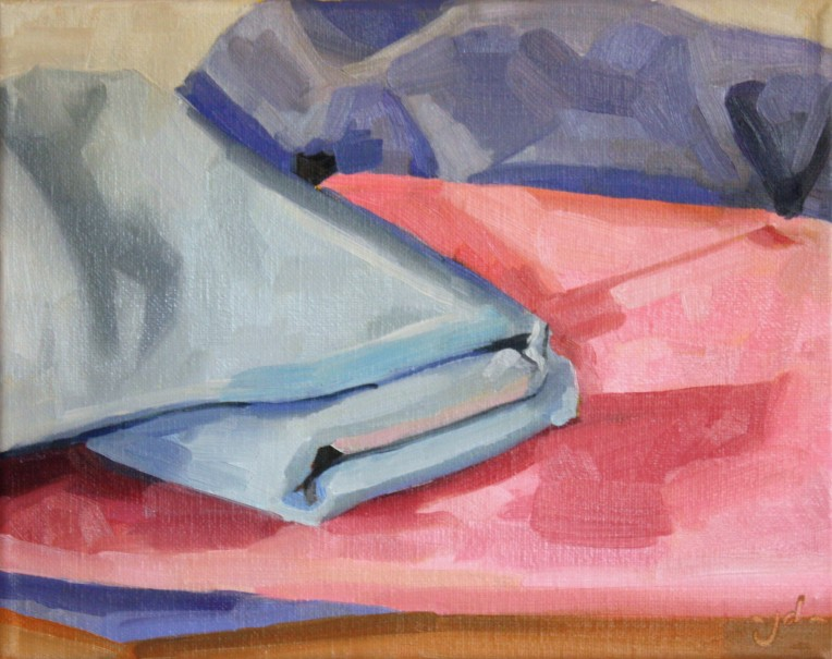 "Blanket Landscape study 2, oil/canvas, 8 x 10"""
