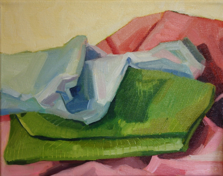 Blanket Landscape Study 1, oil/canvas, 8 x 10""