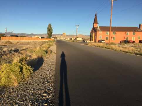 Sunrise shadows in Wendover