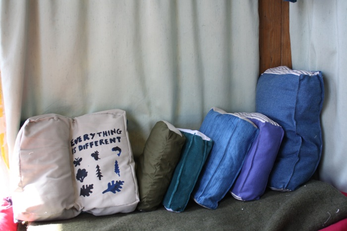 pillows that look like books