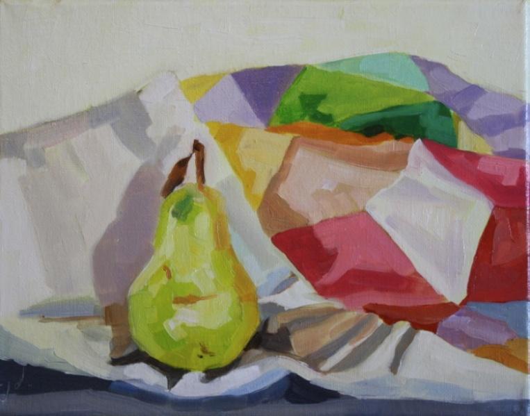 "Blanket Landscape Study 6, oil/canvas, 8 x 10"""