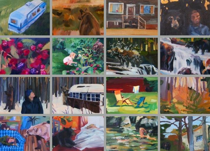 new gallery of art works Bear